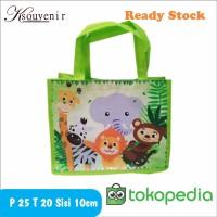 tas ulang tahun tas ultah murah goodie bag animal