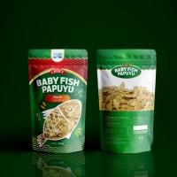 ikan crispy Rasa Gurih / cemilan / baby fish papuyu