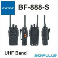 HT Handy Talky Walkie Talkie Baofeng BF-888-S UHF 16Ch up to 5 km ht