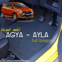 Karpet mie bihun Mobil Agya Ayla Full Bagasi 3 baris