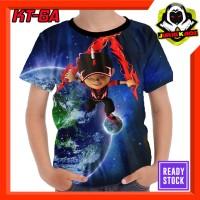 Kaos Boboiboy galaxy Tokoh Kartun TV Baju Anak Murah