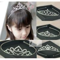 CR02 CELLA - Mahkota Crown Tiara Pesta Anak Putri Perempuan Premium