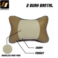 Bantal Mobil / Headrest / Bantal Leher Kulit Sintetis MBTech APForce