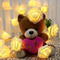 lampu led mawar