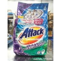 Attack Plus Violet Aroma Deterjen Bubuk 800 gram | Attack Bubuk 800g
