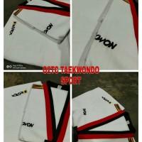 dobok kwon tiger baju taekwondo kerah poom original