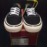 Sepatu Vans Authentic 44 DX Anaheim Factory Black (RedShoesID)