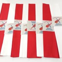 Kertas Krep Merah Putih