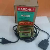 Trafo Step Up Step Down 100 Watt 110V-220V Daiichi