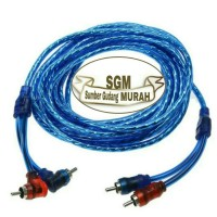 CABLE/KABEL RCA TO RCA INTERSYS ANTI STORING 4 METER HIGH QUALITAS