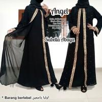 abaya gamis hitam arab murah terbaru mesir dubai ori saudi ANGEL