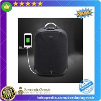 Promo Arctic Hunter Tas Ransel Security Lock with USB Charger Port -