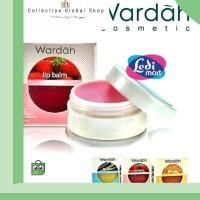 murah ORIGINAL Wardah Lip Balm Bibir 3 Warna Orange Strawberry