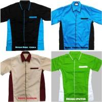 Baju Kerja / Baju karyawan / Seragam kerja/ Baju Bengkel/ Kemeja drill