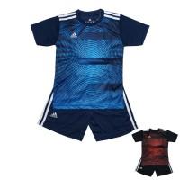 (AD142) Setelan Anak Baju Futsal Sepakbola Mat. Dri-Fit