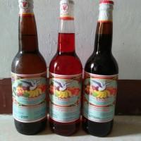 Sirup Cap Bangau Rasa Pisang Ambon, Vanili dan Pala