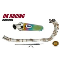 knalpot racing kawasaki ninja fi 250 2018 dbs thailand