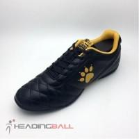 Sepatu Futsal Kelme Original Power Grip Black Gold 1102091 BNIB