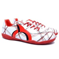 Sepatu Futsal Ortuseight Ventura IN ( White/red/black )