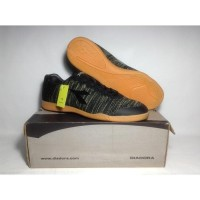 Sepatu Futsal Original 100% Diadora Garda ID Black DIAX7F1102BK