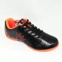Kicosport sepatu futsal anak kelme star 9 junior black orange