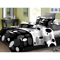 Adela Bed Cover Polkydot - Comfort Collection - Bedcover Set - 120x200x20