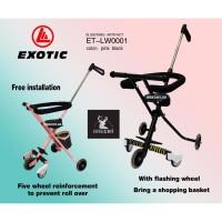 Stroller Lipat Murah Exotic ET-LW0001/ Dorongan Anak Lipat