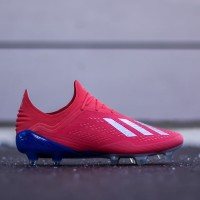 Sepatu Bola Adidas X 18.1 FG - Red Silver