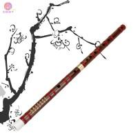 Chinese Musical Instrument Traditional Handmade Dizi Bamboo Flute D E
