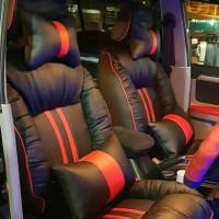 Sarung /Cover Jok Mobil expander ultimate, xpander cross motif sofa
