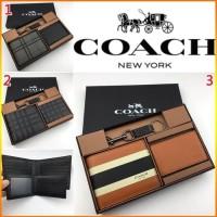 Dompet Coach Original / Coach Wallet Original / Dompet Pria Coach Ori