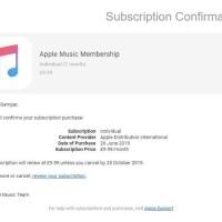Voucher Apple Musik
