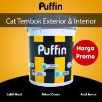Cat Tembok Exterior Puffin Plus 5 kg hasil akhir matt