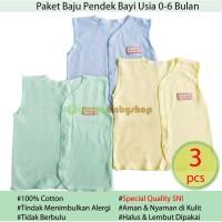 TERMURAH 3 Pcs Baju Buntung Bayi Baru Lahir Newborn Zahdan