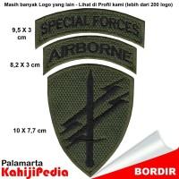 Patch bordir emblem bordir badge special forces