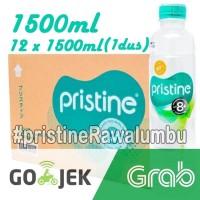 Pristine water 1500 ml x 12 botol+air minum pristine+air alkali (1Dus)