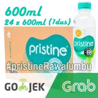 Pristine water 600 ml x 24 botol+air minum pristine+air alkali (1 Dus)