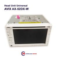 Head Unit Universal Avix AX-52DX-W