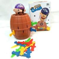 Pirates Barrel / Pirates Barel / Pirates Barrel Game / Mainan Edukasi