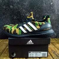 Sepatu Adidas Ultraboost x Bape Camo Green UA ORIGINAL BASF BOOST