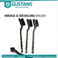 Sikat Sepatu Khusus Insole & Detailing - Premium Gustans