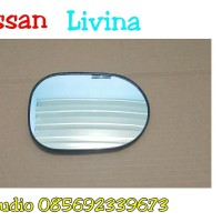 kaca cermin spion Nissan grand livina 2007 2008 2009 2010 2011 2012