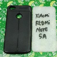 Silikon karet hitam capdase xiaomi redmi note 5a note 5a prime mantap