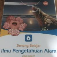buku senang belajar pengetahuan alam untuk SD kelas 6 Bse
