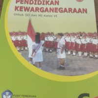 buku ppkn untuk SD kelas 6 Bse