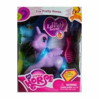 Hot Toys My Little Horse Purple - Mainan Kuda Pony Aksesoris Set