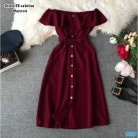 Dress wanita Murah/Dress Sabrina-dress lili