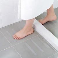 Stiker Anti Slip Licin Lantai Kamar Mandi Bathub Shower Tangga Isi 6