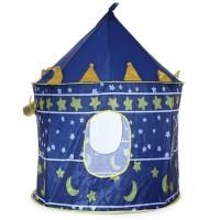 [ BIRU ] Tenda Kerucut / Tenda Anak Model Castle Kids - Portable Tent