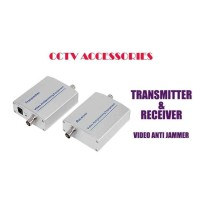CCTV Camera Non-Interference Transmitter Receiver Adapter Coaxial BNC